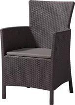 Кресло MONTANA темно-коричневый Curver купить оптом и в розницу