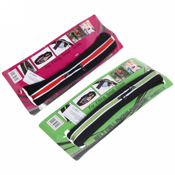 Поясная сумка для спорта и отдыха YD012 (2 отделения) купить оптом и в розницу