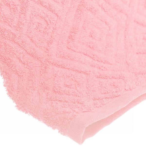 Махровое полотенце 70*140см бледно-розовое жаккард ЖК140-2-005-029 купить оптом и в розницу