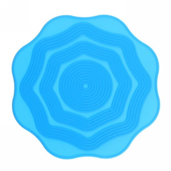 Подставка под кружку силиконовая 10 см в наборе 4 шт Волна купить оптом и в розницу