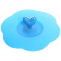 Крышка силиконовая для кружки 10,5см ″Сердечко″ BG002 купить оптом и в розницу