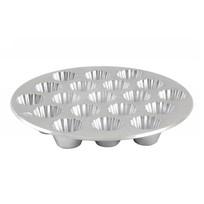 Форма для выпечки кексов, литой алюминий КМ-ф190 купить оптом и в розницу