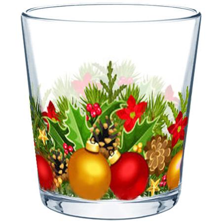 Стакан 250мл ″Новогодняя феерия″ купить оптом и в розницу
