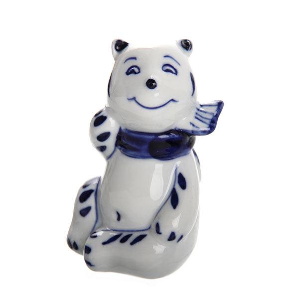 Фигурки керамические ″Мишутка″(набор 3шт), 7*5см купить оптом и в розницу