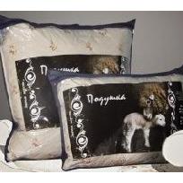 Подушка 70х70 шерсть овечья тик конверт Миромакс арт.222 купить оптом и в розницу