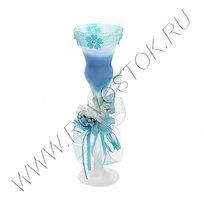Свеча гелевая ″Лазурин-1″ 20 см купить оптом и в розницу