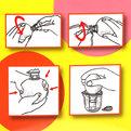 Соковыжималка для цитрусовых Петушок 9*7см F034 купить оптом и в розницу