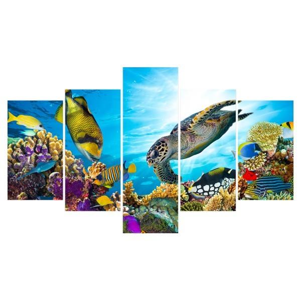 Картина модульная полиптих 75*130 Море диз.2 36-02 купить оптом и в розницу