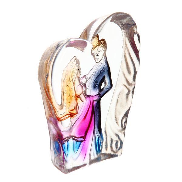 Фигурка из стекла ″Пара″ 8 см купить оптом и в розницу