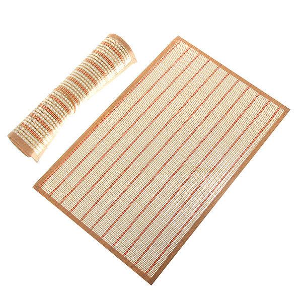 Салфетка на стол 30*45см плетеная, с кантом бежевая две штуки купить оптом и в розницу