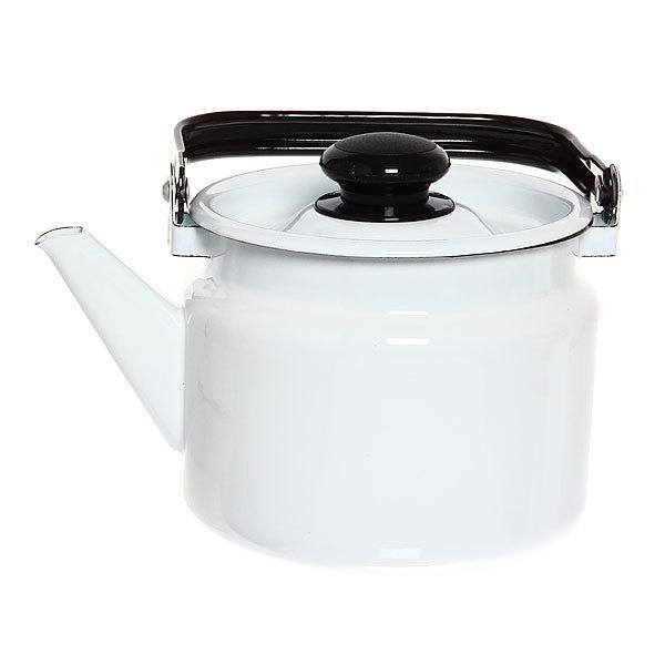 Чайник эмалированный 2л без декора купить оптом и в розницу