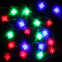 Гирлянда светодиодная 5,5м, 25ламп LED, Ангел, RG/RB(красный,зеленый/красный,синий), ав.реж., пр. пров. купить оптом и в розницу