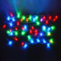 Гирлянда светодиодная 5,5м, 25ламп LED, Кристалл, RG/RB(красный,зеленый/красный,синий), ав.реж., пр. пров. купить оптом и в розницу