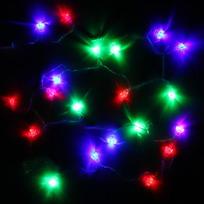 Гирлянда светодиодная 5,5м, 25ламп LED, Подарок, RG/RB(красный,зеленый/красный,синий), ав.реж., пр. пров. с возм. соед купить оптом и в розницу