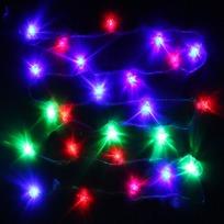 Гирлянда светодиодная 5,5м, 25ламп LED, Мишка, RG/RB(красный,зеленый/красный,синий), ав.реж., пр. пров. с возм. соед купить оптом и в розницу