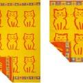 ПЦ-1202-67 полотенце 100x150 махр п/т KITTI цв.10000 купить оптом и в розницу