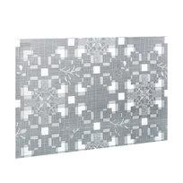 Салфетка на стол 30*45см универсальная, Цветы серебро TD218-A001-C купить оптом и в розницу