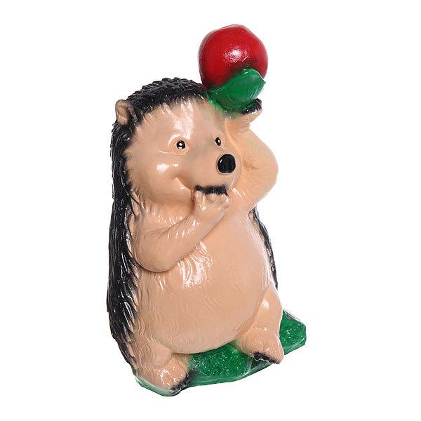 Копилка Ёж с яблоком 24см купить оптом и в розницу