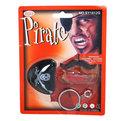 Карнавальный аксессуар набор ″Пират″(назлазник,усы,серьги,шрам) купить оптом и в розницу