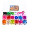 Набор резинок для плетения браслетов 800шт 15 цветов Прямоугольный купить оптом и в розницу