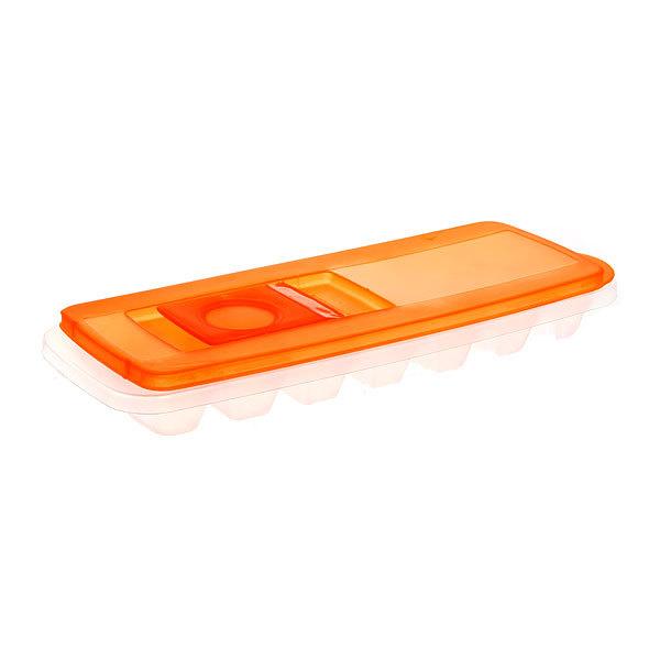 Форма для льда пластиковая с крышкой 28*11 см 0618 купить оптом и в розницу