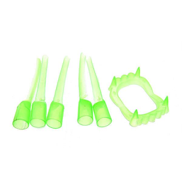 Набор карнавальный Зубы с пальцами фосфорные купить оптом и в розницу