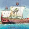 Сб.модель П9030 ПН Карфагенский корабль купить оптом и в розницу