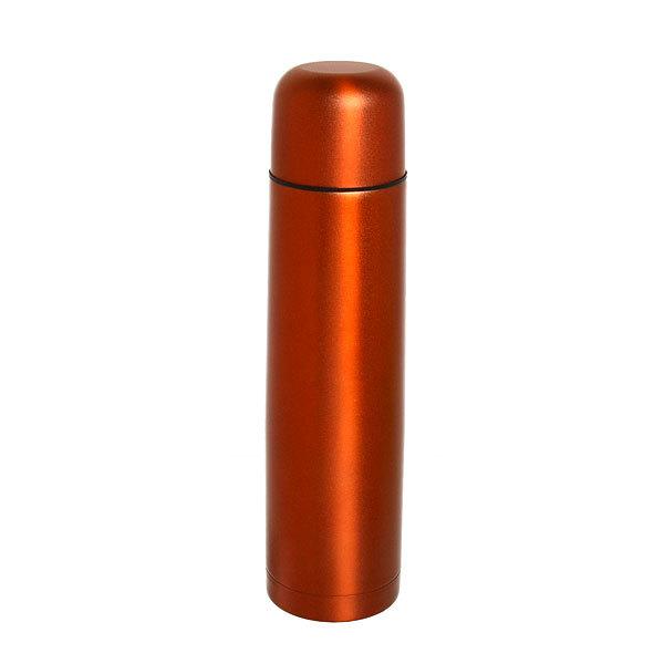 Термос с металлической колбой 1000 мл ″Селфи″ красный купить оптом и в розницу