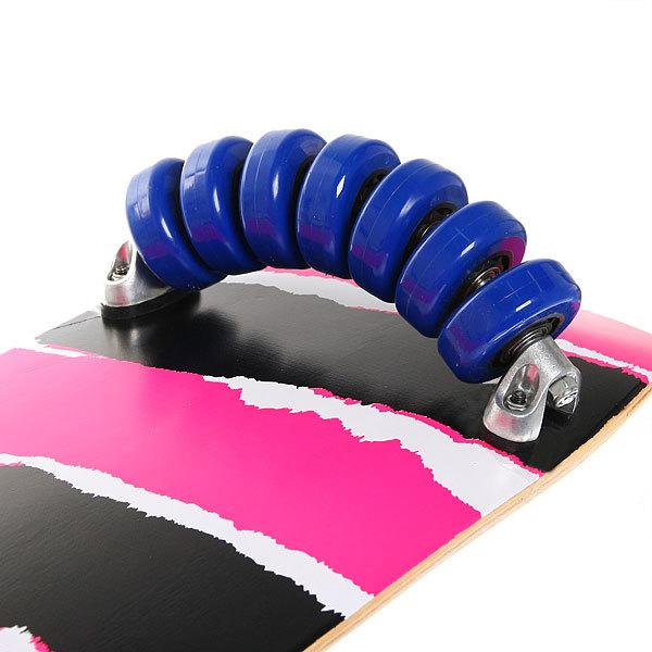 Скейтборд 80х25см (ПУ 65 мм,метал. подвеска,14 колёс купить оптом и в розницу