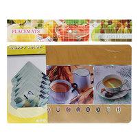 Набор салфеток на стол 42*27см 6+6шт Чай СD-002 купить оптом и в розницу