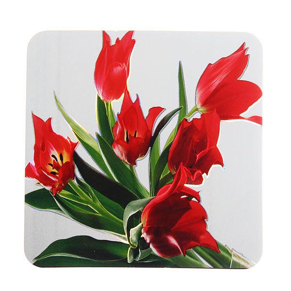Набор салфеток на стол 42*27см 6+6шт Цветы купить оптом и в розницу