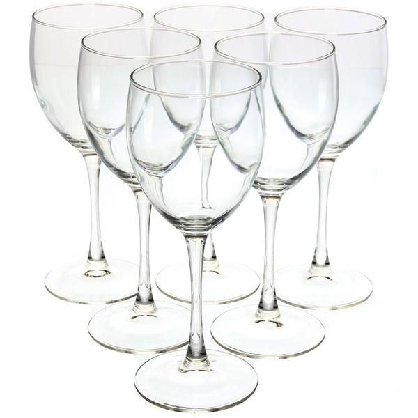 Набор фужеров для вина 6шт 350мл ″Сигнатюр″ (1/4) J0012 купить оптом и в розницу