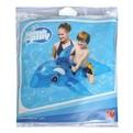 Игрушка для плавания верхом 118х72 см с ручками Кит прозрачный Bestway (41036B) купить оптом и в розницу