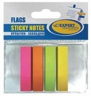 Закладки Expert 50*12  4цв 100л бумажные купить оптом и в розницу