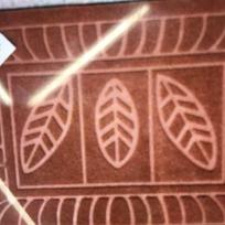 Коврик придверный Селфи 39х59 216 листочки купить оптом и в розницу