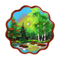 Панно из натурального камня 23см ажурное №3 купить оптом и в розницу