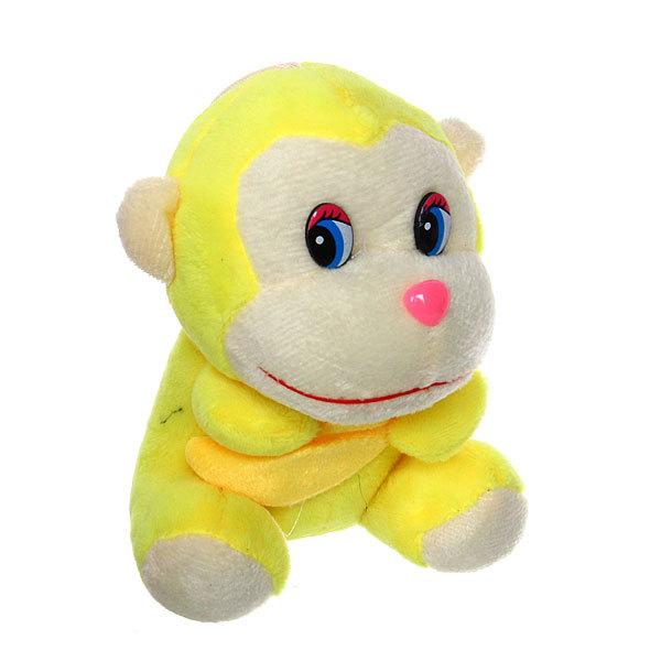 Игрушка мягкая Обезьяна с бананом, 13 см, 1258 купить оптом и в розницу