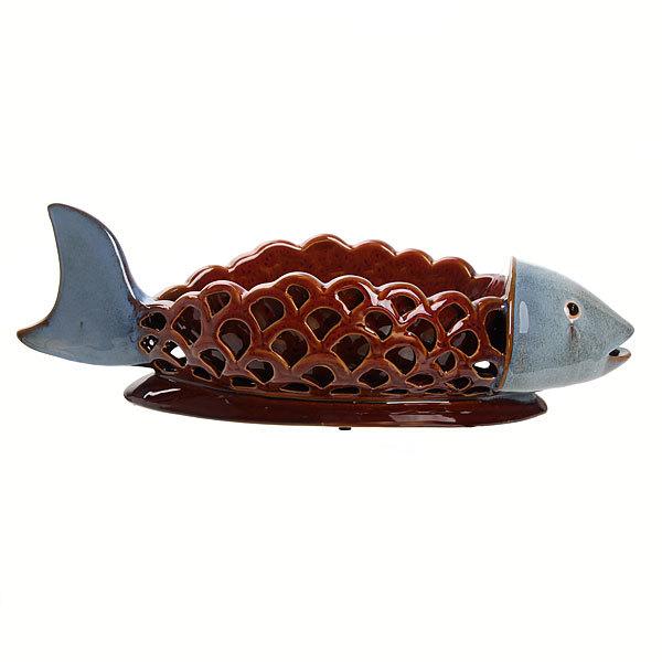 Ваза интерьерная ″Рыба″ 901006 купить оптом и в розницу