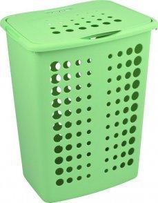Корзина бельевая 60 л VICTOR Curver зеленый/*5 шт (45,4.х34,1х57,1) купить оптом и в розницу