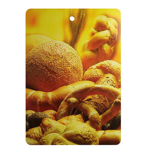Доска разделочная 29*21*0,5см ″Хлеб″ купить оптом и в розницу