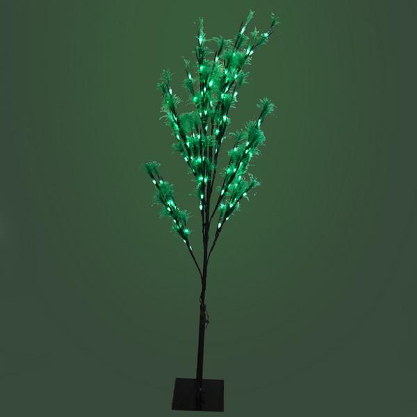Световое дерево LED 120см, ″Хвоя″ оптоволокно, 8 режимов купить оптом и в розницу