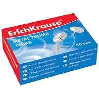 Кнопки канц.Erich Krause D-10 мм 50шт купить оптом и в розницу