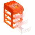 Контейнер для мелочей ″Мини-комод″ 3 секции 273-662 14.4х11х18см купить оптом и в розницу