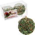 Новогодние шары ″Зимний лес″ 8см (набор 2шт.) купить оптом и в розницу