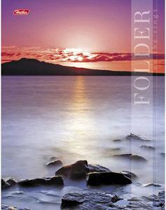 Папка-обложка на кольц.А5 HATBER Закат над рекой купить оптом и в розницу