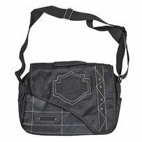Сумка-портфель мужская через плечо 7231 36*30 см 2 отделения купить оптом и в розницу