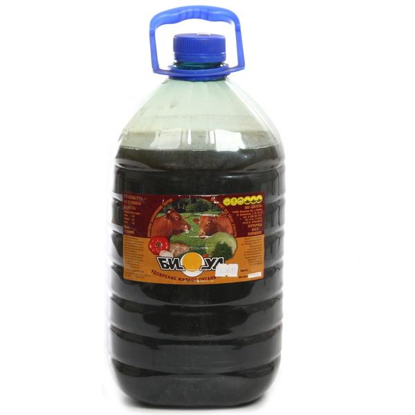 Удобрение жидкое органическое 5л ″Биуд″ КРС купить оптом и в розницу