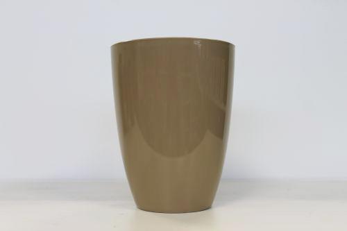 Кашпо для орхидеи 13 кругл. 1,2 l кофе латте*10 Form plastic купить оптом и в розницу