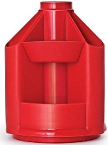 Набор наст.б/наполн.Mini Desk вращ. красный купить оптом и в розницу
