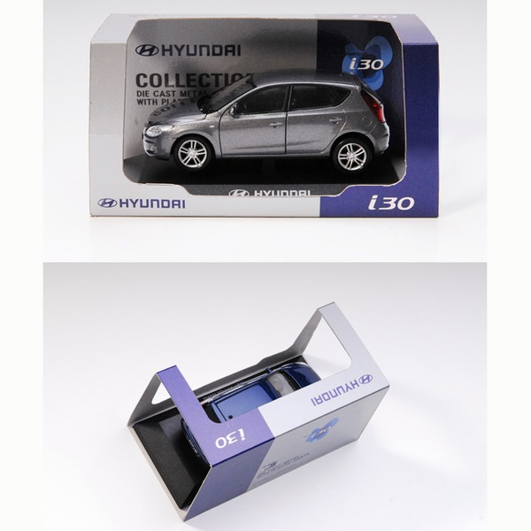Модель Hyundai i30-2009 пласт.бокс 1:38 PS-02 купить оптом и в розницу
